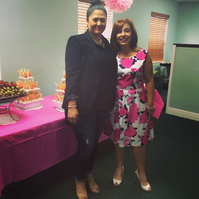Pastor Angela and Devorah